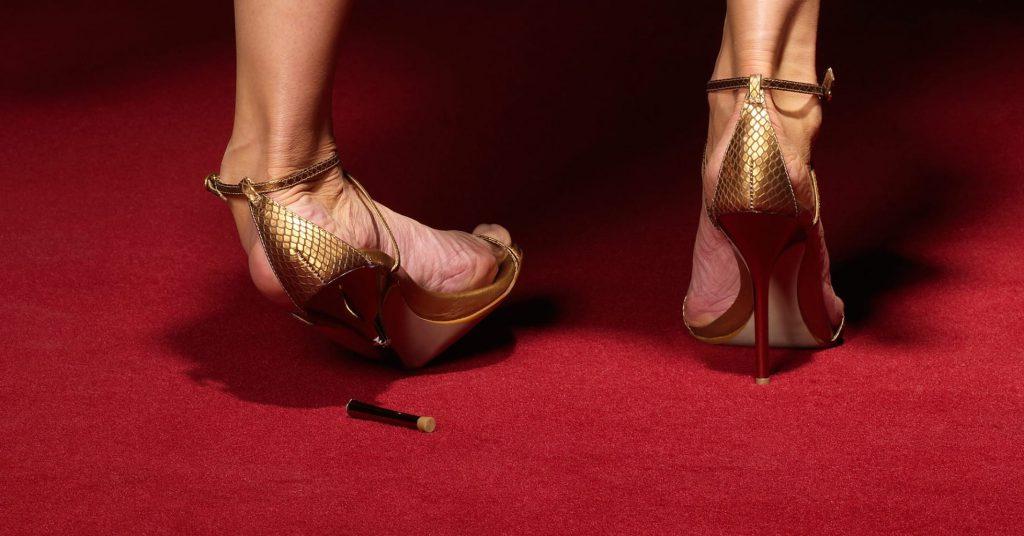 کفش پاشنه بلند ؟