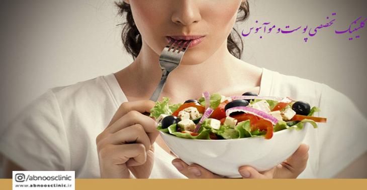 کاهش وزن لاغری با 20 غذای دوستدار وزن